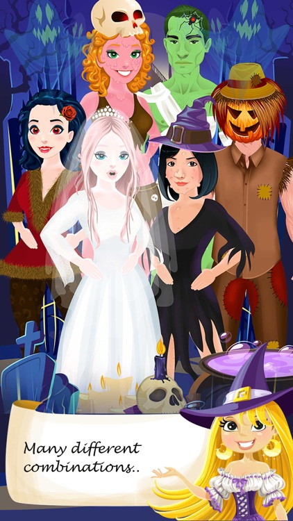 Halloween Salon Spa Makeover Doctor Game screenshot-3