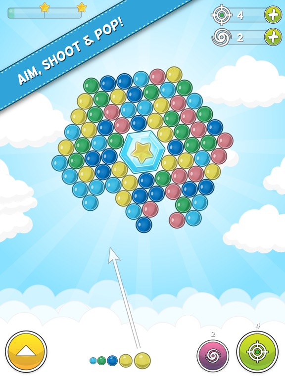 Bubble Cloud: Spinning Bubbles Скриншоты7
