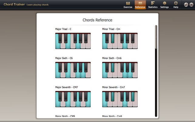 Chord Trainer on the Mac App Store
