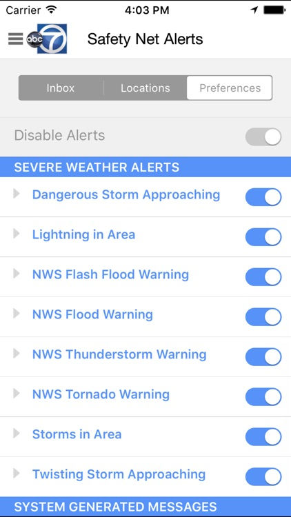 StormWatch 7 Weather App from ABC7/WJLA screenshot-4