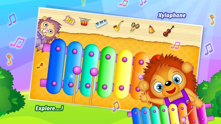 123 Kids Fun MUSIC Free Top Music Games for Kids screenshot-0