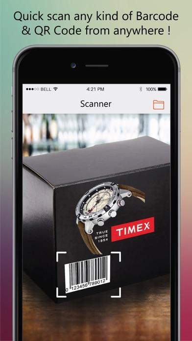 Magic Scanner - Bar.Code Read.er & QR Code Make.r Screenshot on iOS