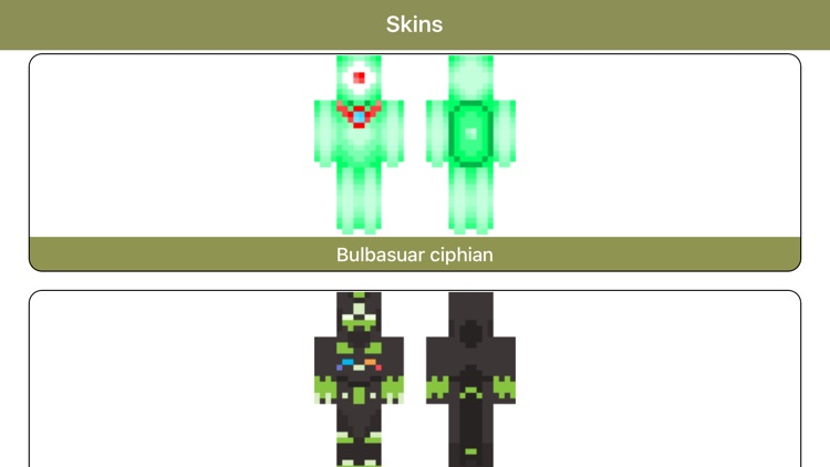 Poke Skins for Minecraft - Pixelmon Edition Skins screenshot-3