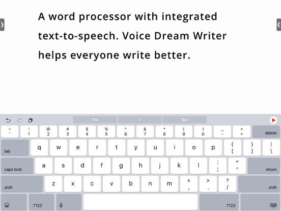 Screenshot #1 for Voice Dream Writer