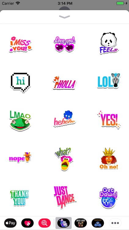 Just Dance 2018 Stickers