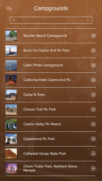 Nevada Camping & RV Parks screenshot-2