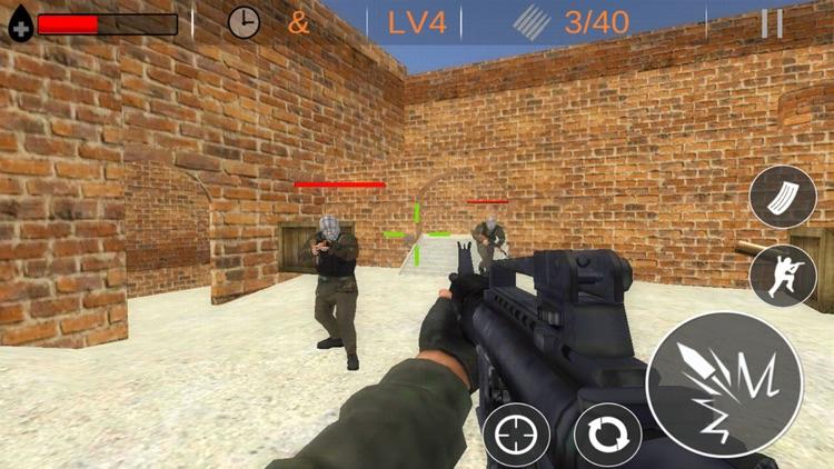 Counter Strike Source Ipad: Counter Terrorists Shoot Strike By Hang Zhao