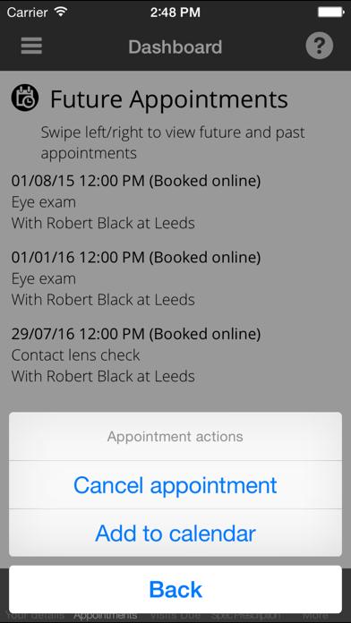 Viewpoint Opticians screenshot three