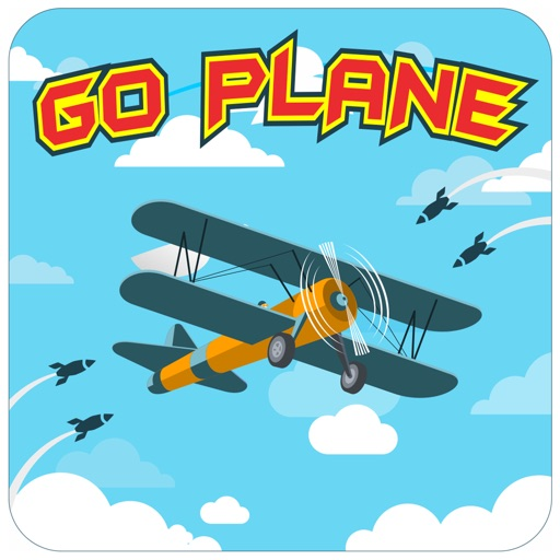 Go Plane - Missile Escape War