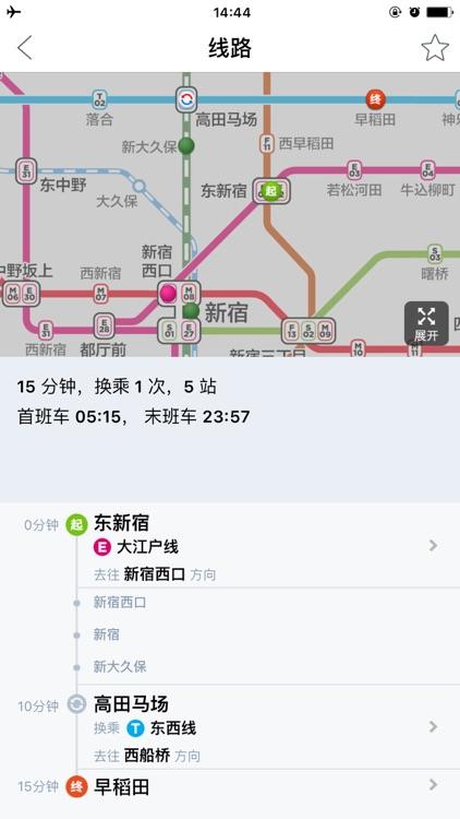 日本地铁-东京大阪京都中文版换乘攻略