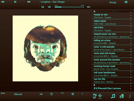 Best paid music apps for iPad (iOS 7 and below)