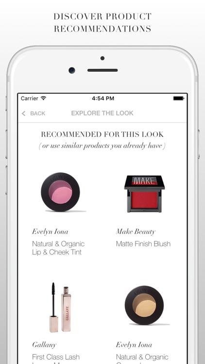 MAP MY BEAUTY - makeup tutorials on your selfie screenshot-3