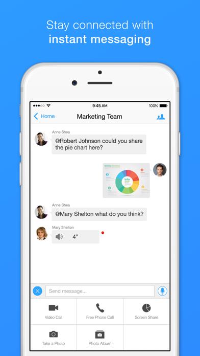 Screenshot 1 for Zoom's iPhone app'