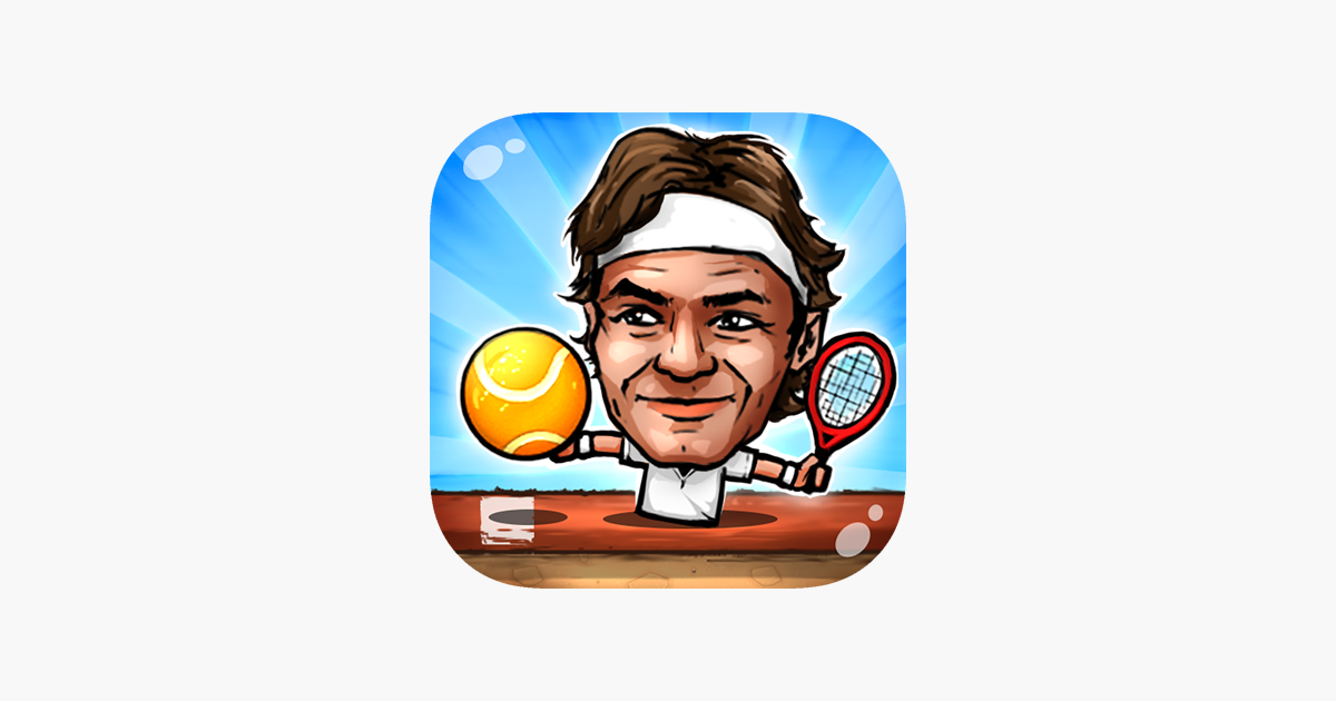 Puppet Tennis  Topspin Tournament of big head Marionette legends on the  App Store 39936389d9bf9