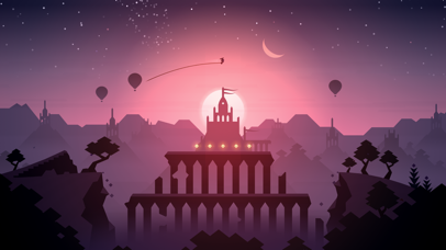 Screenshot from Alto's Odyssey
