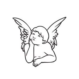 Angelmoji - Angel cherub & Cupid Sticker Pack