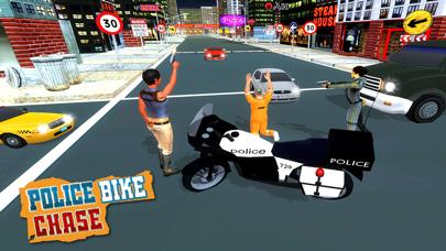 Crime City Stunt Police Bike