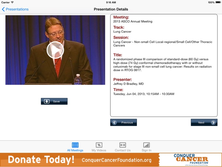 ASCO iMeeting screenshot-4