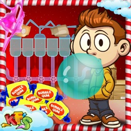 Bubble Gum Factory – Make delicious dessert in this carnival food game for little chef