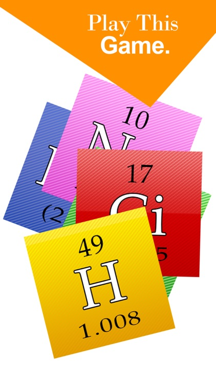 Chemistry Periodic Table Trivia ~ Best Atomic Educational Guessing Quiz Games