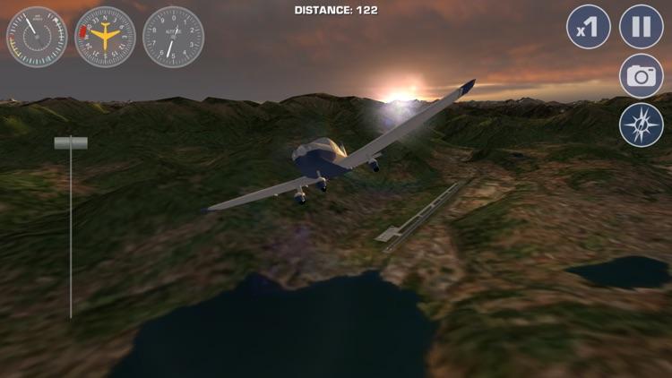 Airplane Fly the Swiss Alps Flight Simulator screenshot-3