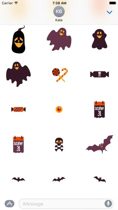 Halloweenie Stickers app image