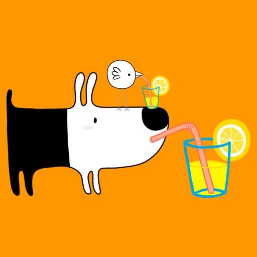 Birdy & Puppy - Emoji Stickers