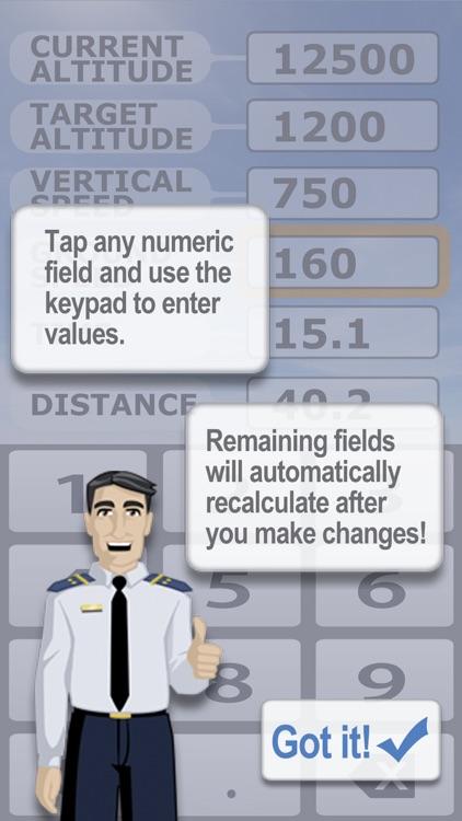 Aviation Descent Calculator