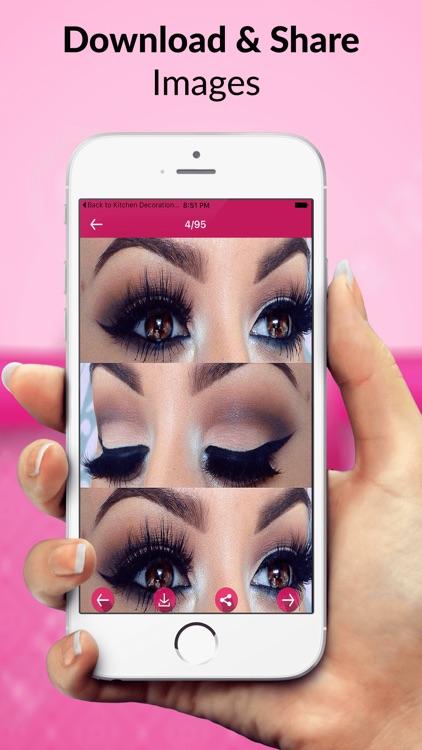 Eyes Makeup Step by Step screenshot-3