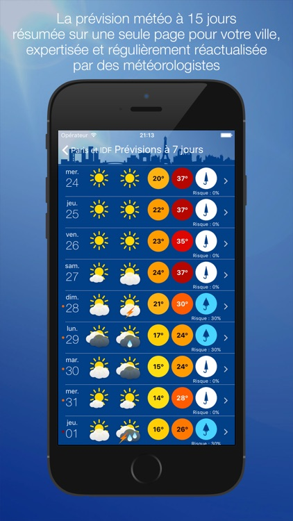 Météo Paris screenshot-1
