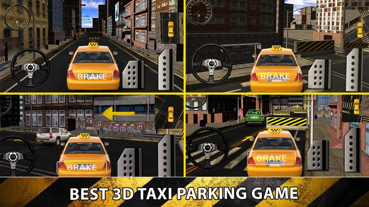 Taxi Cab Driver 2016 - Yellow Car Parking in New York City Traffic Simulator screenshot-3