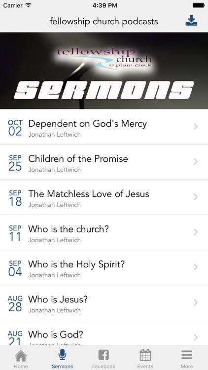 Fellowship Church @ Plum Creek screenshot-3