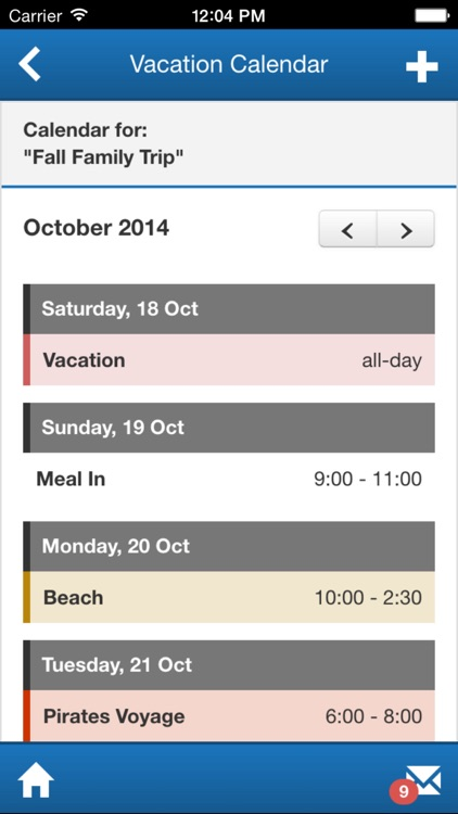 Atwood Vacation Planner