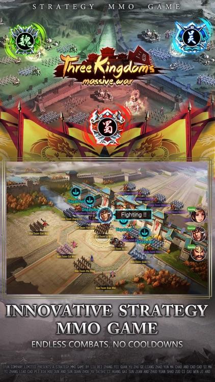Three Kingdoms : Massive War screenshot-0