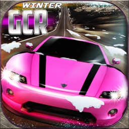 Winter Girls Car Racing