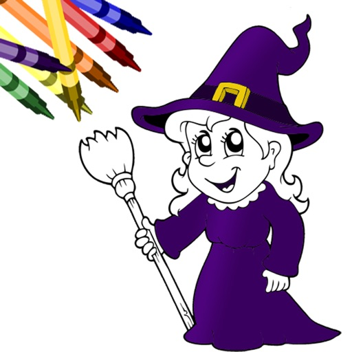Halloween Coloring Book!