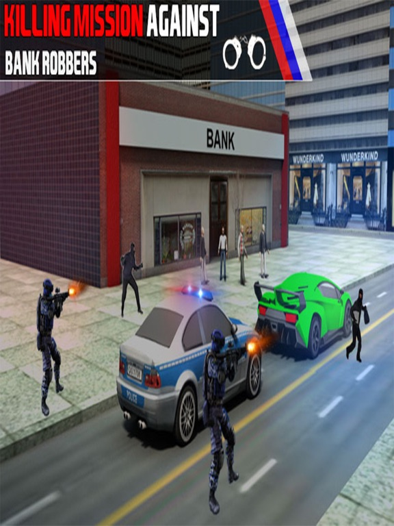 Bank Robbery Shooting Game-ipad-3