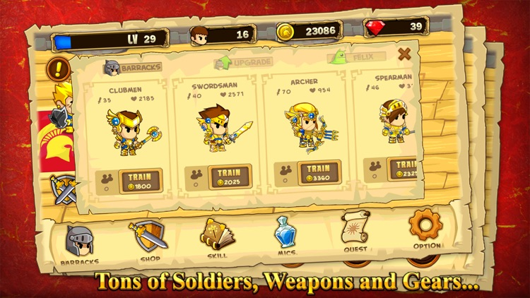 Pocket Army screenshot-1