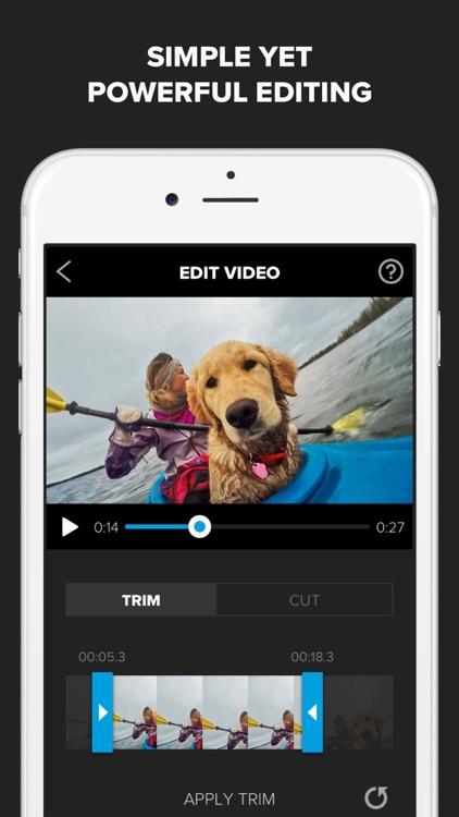 Splice - Video Editor + Movie Maker by GoPro screenshot-0