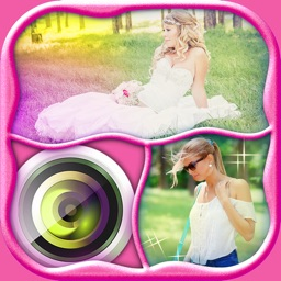 Photo Collage Maker for Girls with Camera Effects