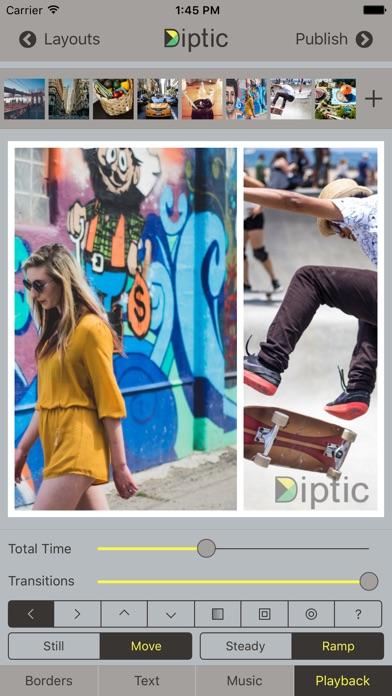 Diptic review screenshots