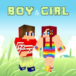 Boy & Girl Skins for MInecraft PE & PC Free