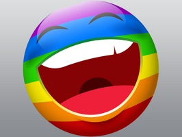Rainbow Smileys stickers pack for iMessage