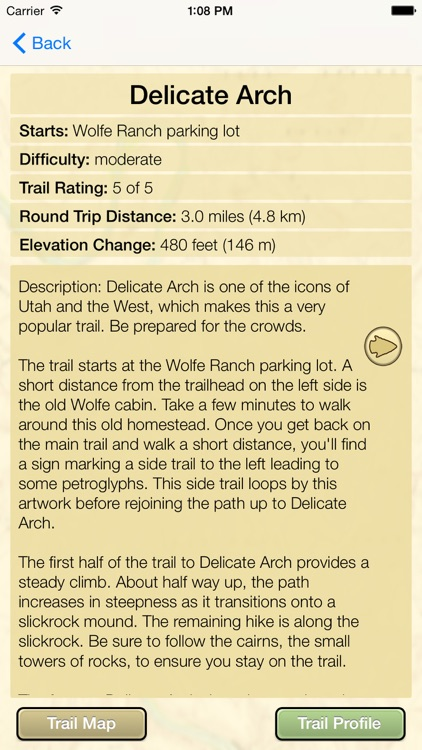 Hiking Arches National Park screenshot-3