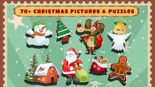 Christmas Shapes Puzzle - Educational Word Learning Game for Kids & Toddlers screenshot one