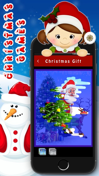 Kids santa Game - Christmas Party for Toddler screenshot four