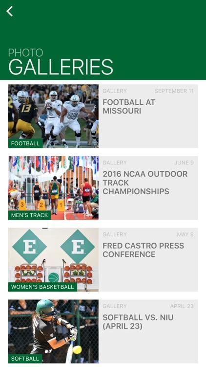 Eastern Michigan Eagles screenshot-3