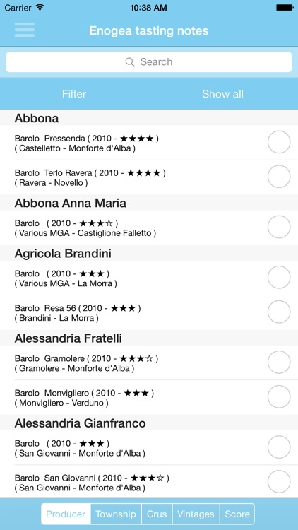 Enogea Barolo docg Map screenshot-4