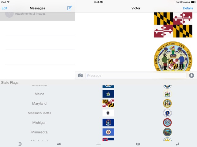 US State Flags Keyboard on the App Store