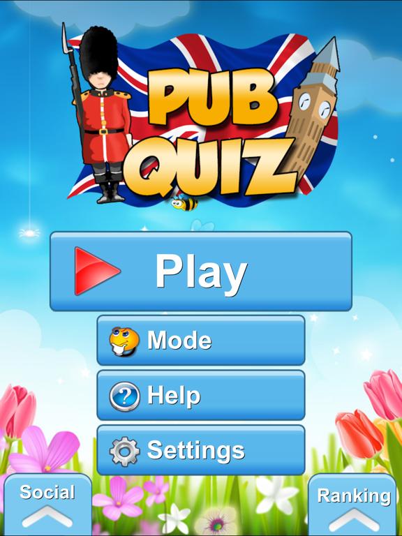 Pub Quiz screenshot